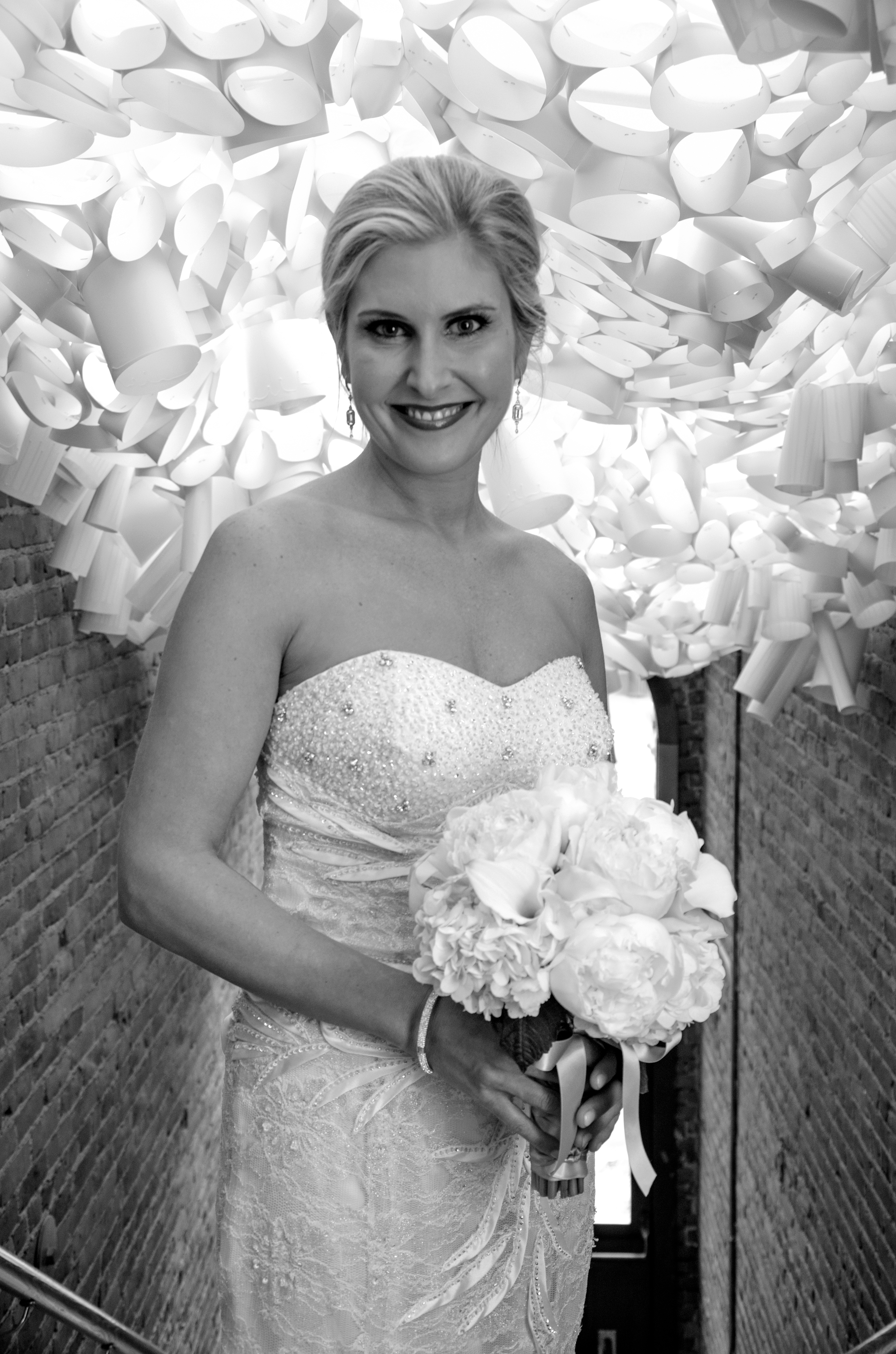 Bride at KAC wedding rental, Katrina Shelby Photography
