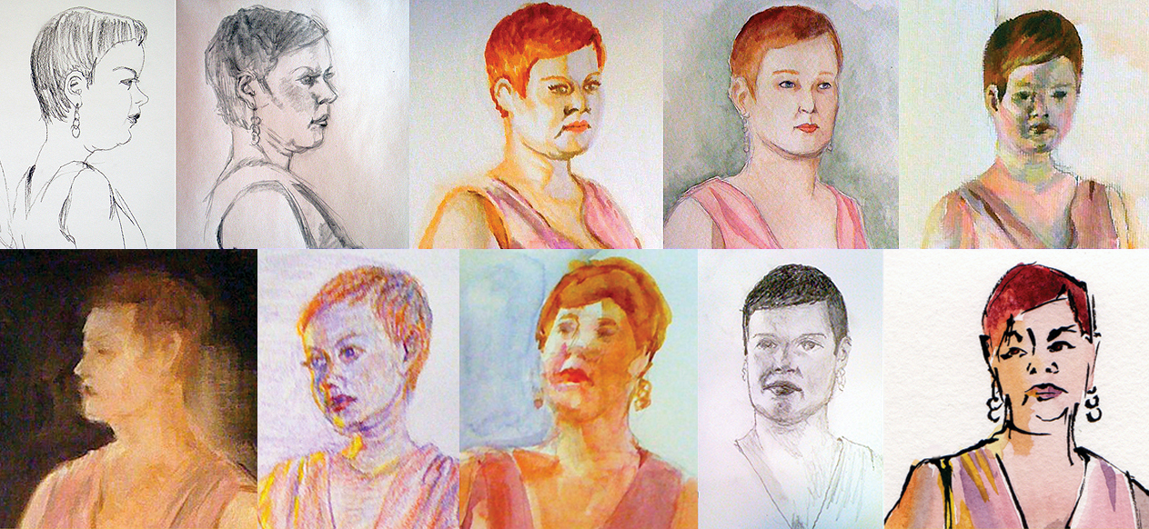 Art from Sunday Life drop-in life drawing session