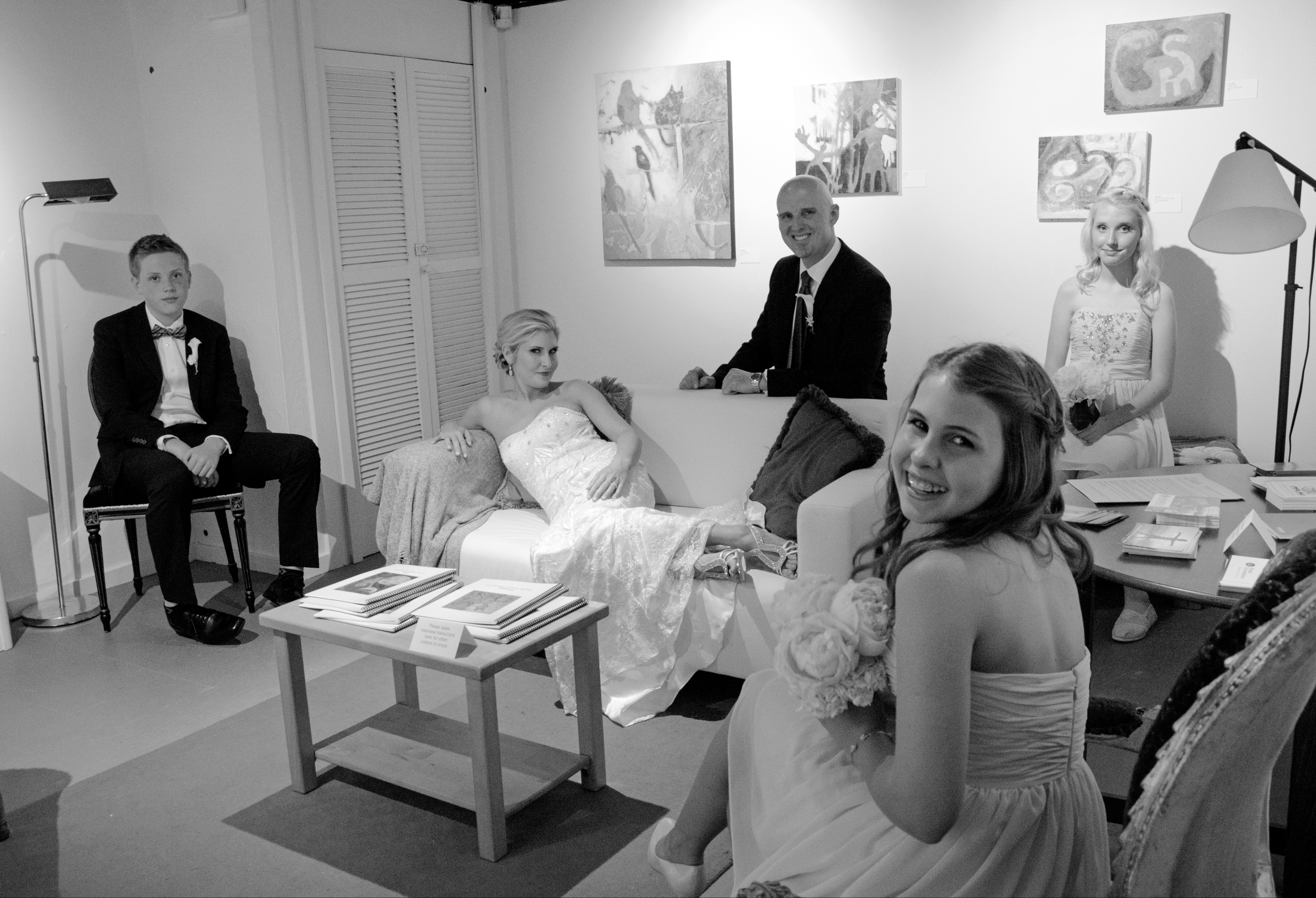 Bridal Party at KAC wedding rental, Katrina Shelby Photography