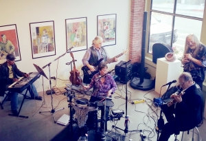 KAC Gallery - Band Performing for a Rental Party