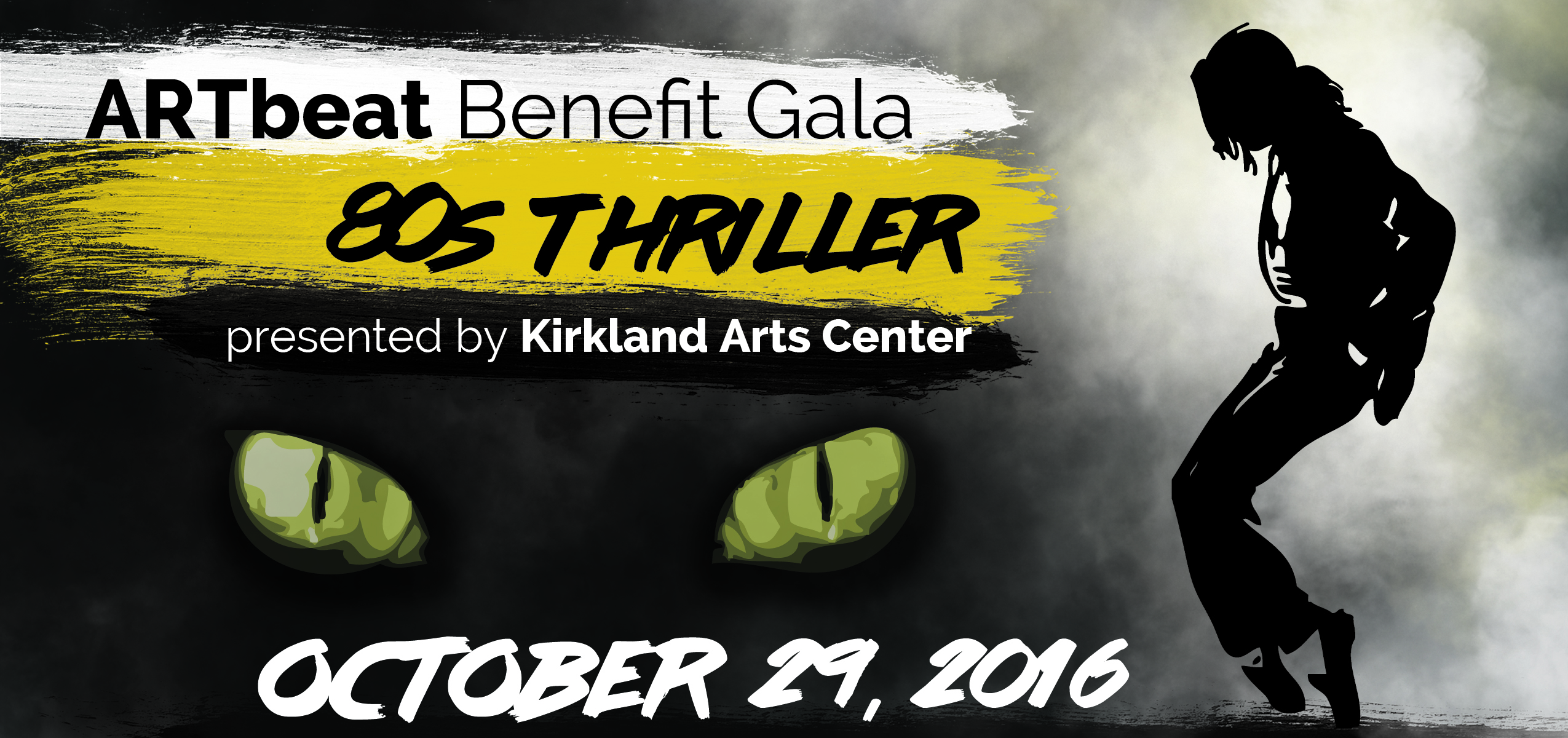 Kirkland Arts Center Artbeat Fundraising Gala and Auction: 1980s Thriller