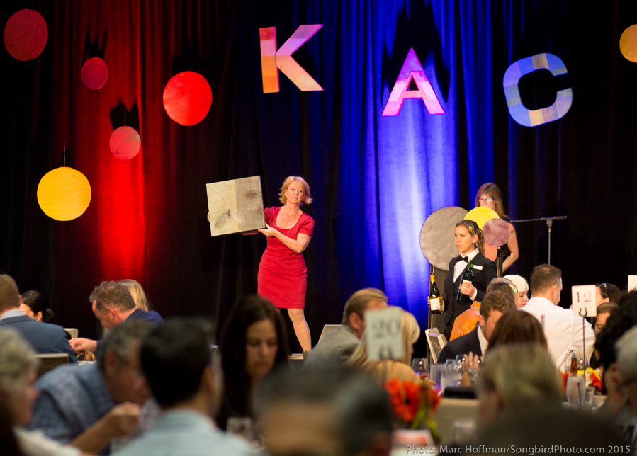 Live Auction at KAC's ARTbeat Benefit Gala and Auction